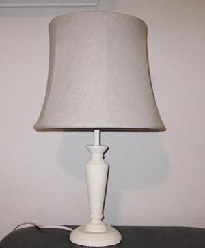 diy table lamp