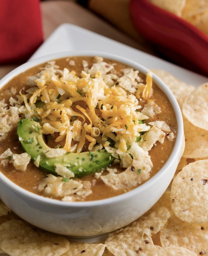 Healthy Recipe for Chicken Tortilla Soup