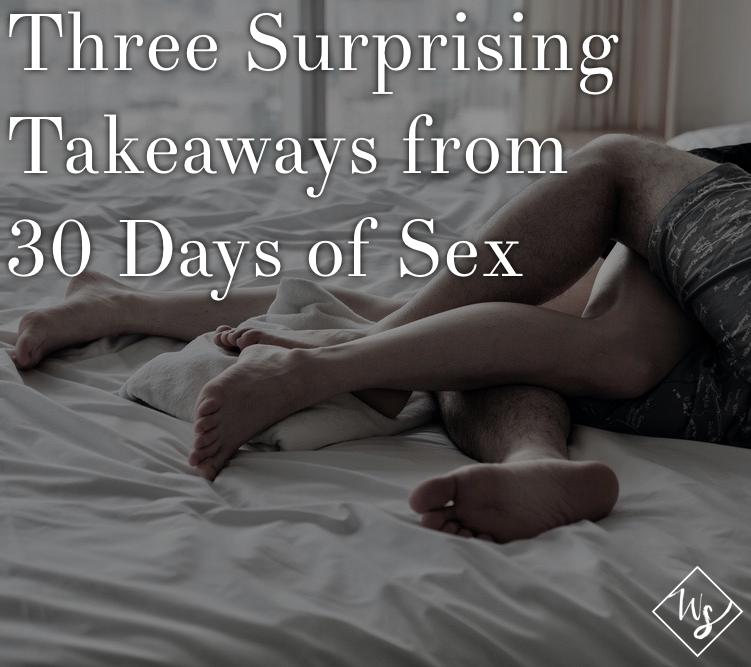 Three Surprising Takeaways from 30 Days of Sex Pinterest